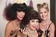 Joyful Ladies in Beauty Salon
