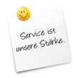 Zettel - Service Stärke