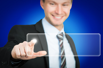 touchscreen berühren