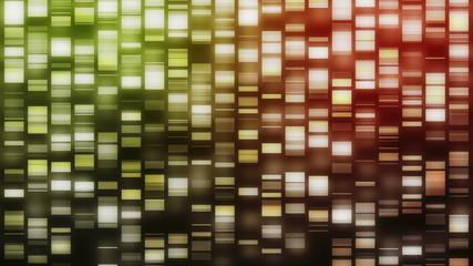Strands of DNA falling