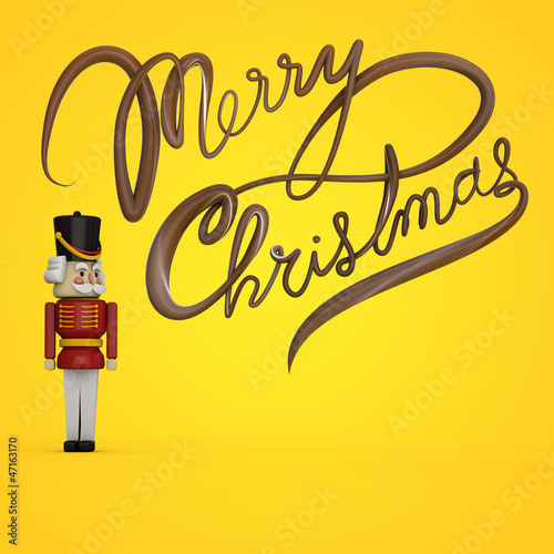 Nutcracker Christmas Card