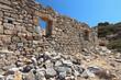 Ancient Itanos at Crete island in Greece