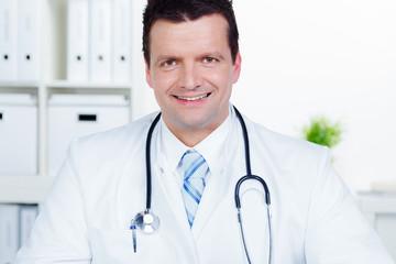 glücklicher doktor