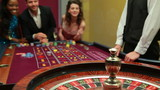 Man winning at roulette