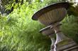 Parc, jardin, maison, jarres, potiches, pierre, vert, charme