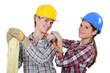 Carpentry is not longer a men's job