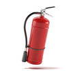 Red fire extinguisher - 47167514