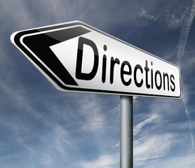 find directions