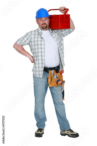 Handyman prepared for any eventuality