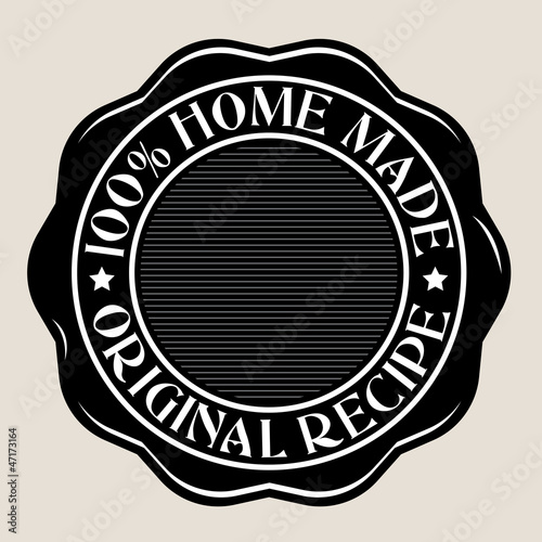 100% Home Made Seal
