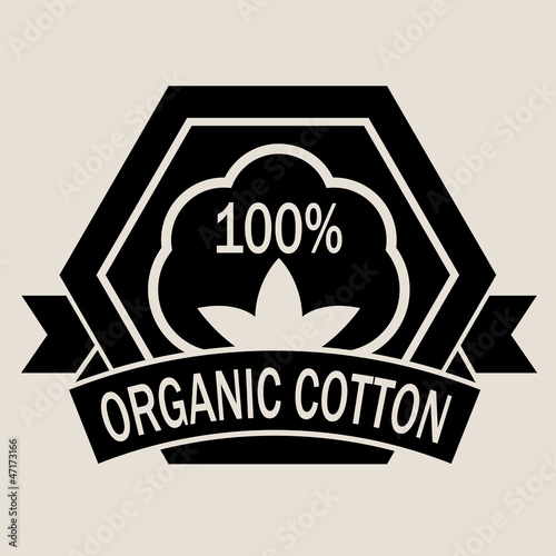 Organic Cotton 100% Seal