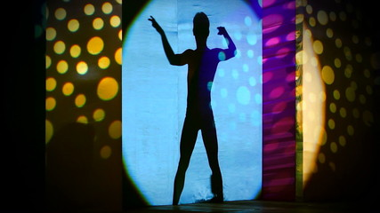 Male Dancer Silhouette