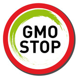 GMO Stop poster