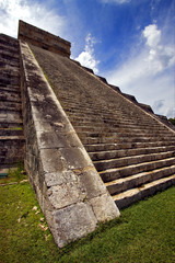 the stairs of   quetzalcoatl