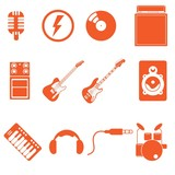 music band icon