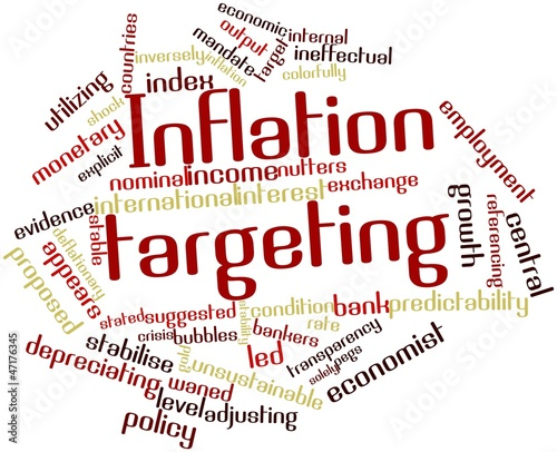 Word cloud for Inflation targeting