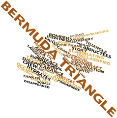 Word cloud for Bermuda Triangle