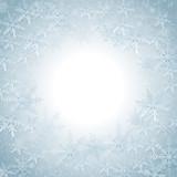 Fototapety Snowflakes Christmas Background