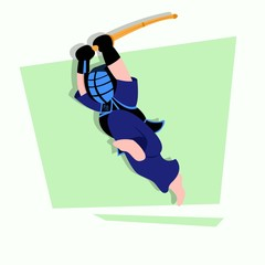Kendo Cartoon