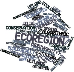 Word cloud for Ecoregion