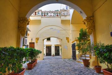 Balsamo palace. Gallipoli. Puglia. Italy.