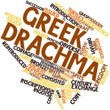 Word cloud for Greek drachma
