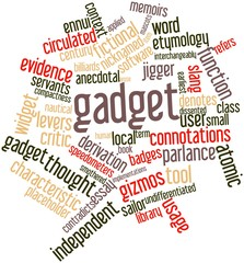 Word cloud for Gadget