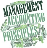 Word cloud for Management accounting principles