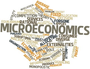 Word cloud for Microeconomics