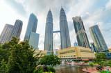 Downtown of Kuala Lumpur in KLCC district - Fine Art prints