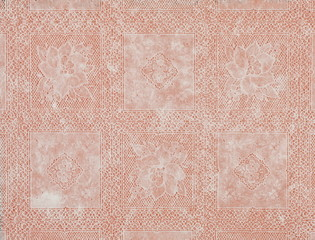 spitze farbig deckchen brombeer  rot