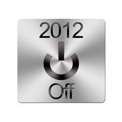 2012 botón de apagado.