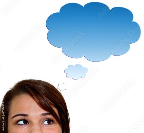 Cloud - Gedankenblase