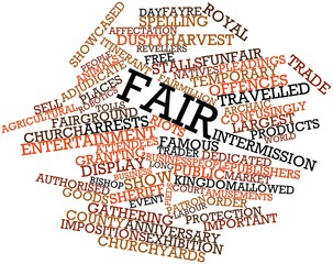 Word cloud for Fair