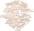 Word cloud for Individual capital