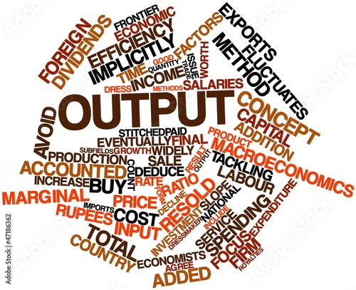 poster of Word cloud for Output