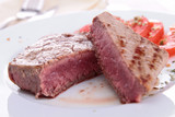 grilled piece of beef