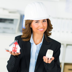 ingenieurin plant ein energiesparhaus