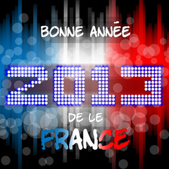 Bonne Annèe 2013 da le France