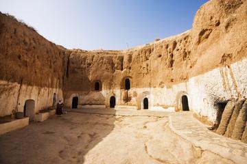 Matmata, Tunisia. The largest region of the troglodyte communiti