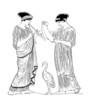 Ancient Greece : Theatre scene
