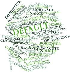 Word cloud for Default