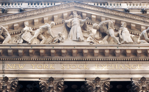 The New york Stock Exchange, NY.