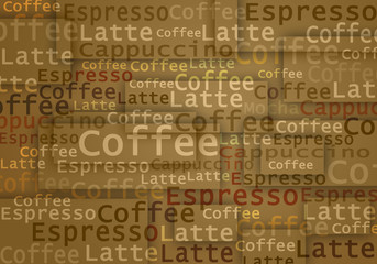 coffee text typing