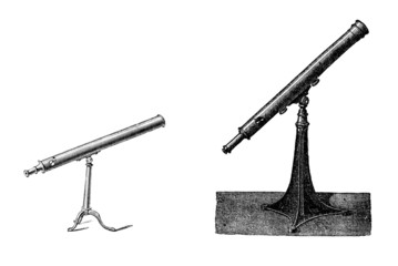 Two Telescopes - 19th century