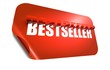 Bestseller concept, cut out in sticker