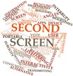 Word cloud for Second screen
