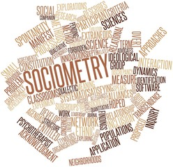 Word cloud for Sociometry