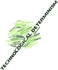 Word cloud for Technological determinism