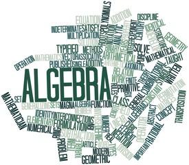 Word cloud for Algebra